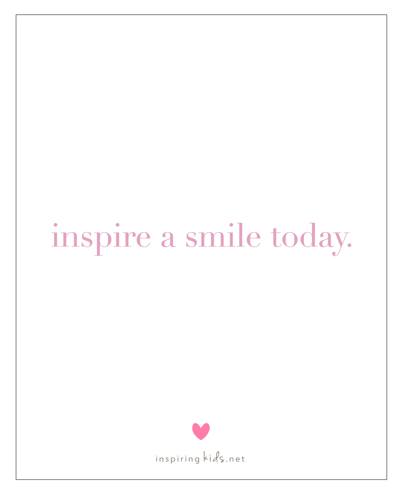 inspire a smile